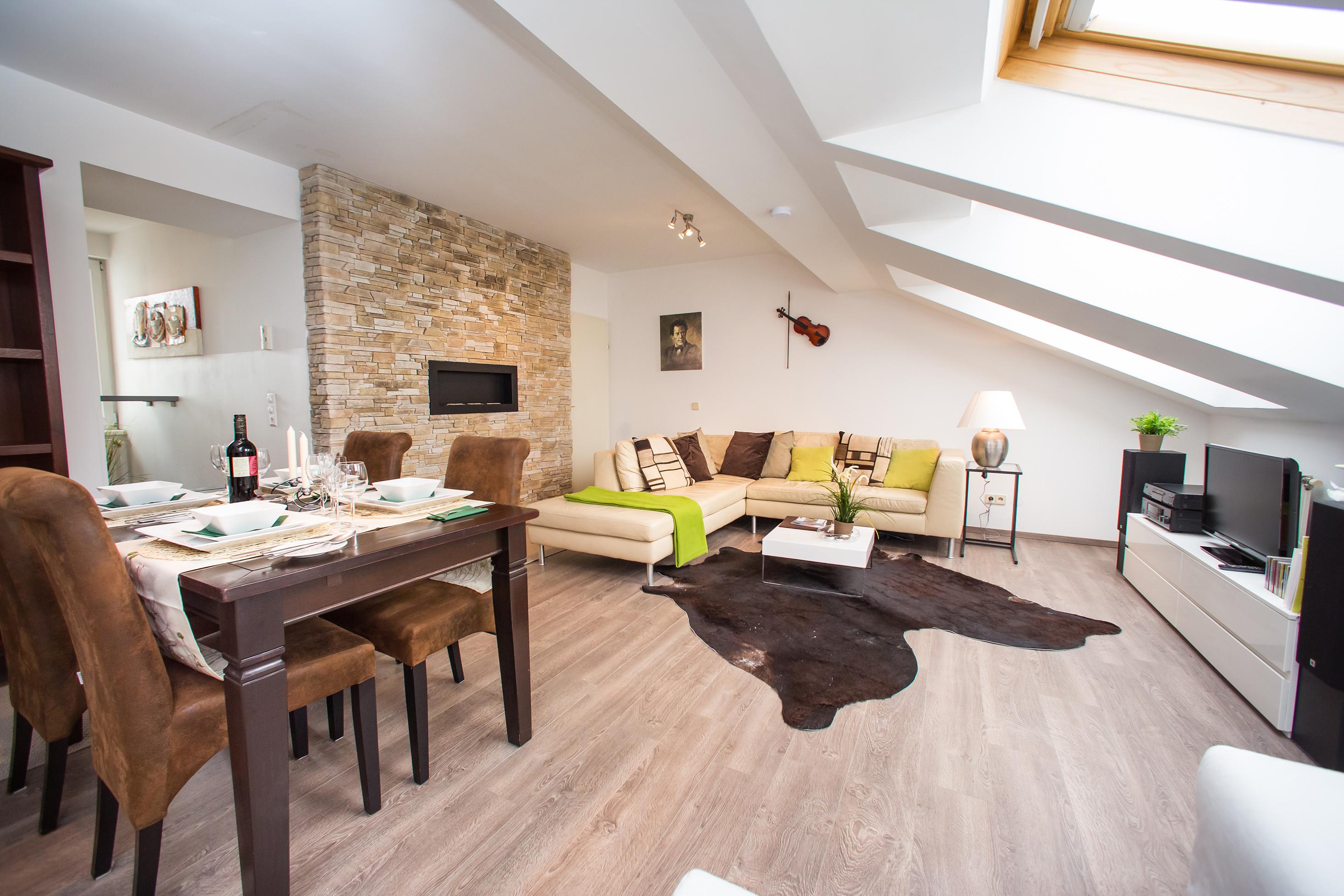 new roof-terrace design apartment vienna - detail - wohnungen, Wohnideen design