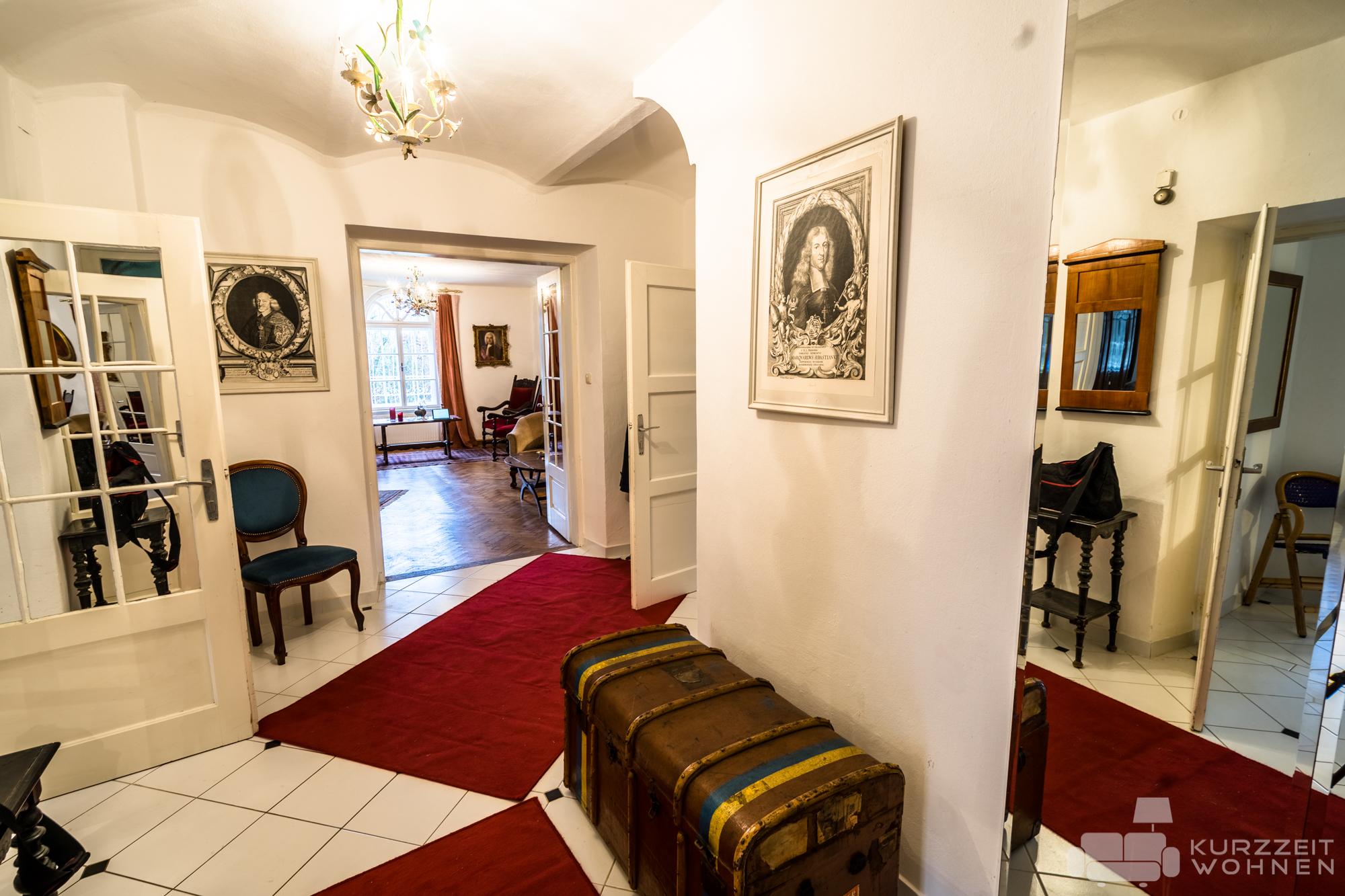 traditionell eingerichtete 3-Zimmer-Wohnung in Hellbrunn ...